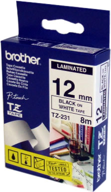 BROTHER 12MM/8M TARRANAUHA MU/VA TZE231